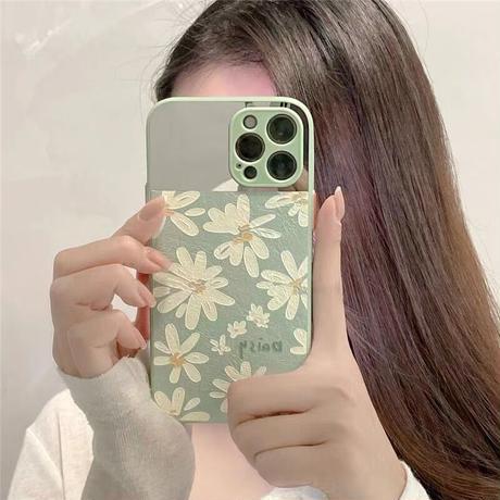 デイジーのミラーiPhoneケース