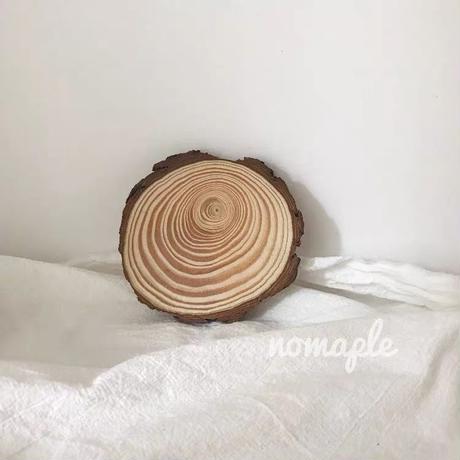 木のコースター【S】