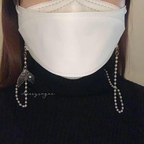 マーメイドテールのマスクチェーン