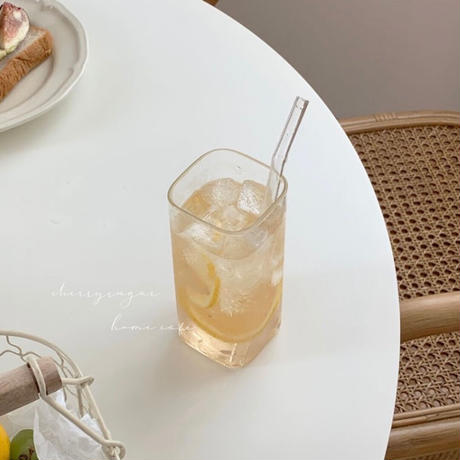スクエアカフェグラス