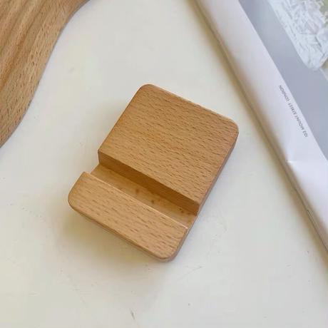 木製のナチュラルスタンド