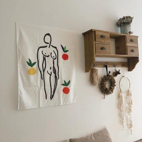 """ファブリックポスター""""nude art"""""""