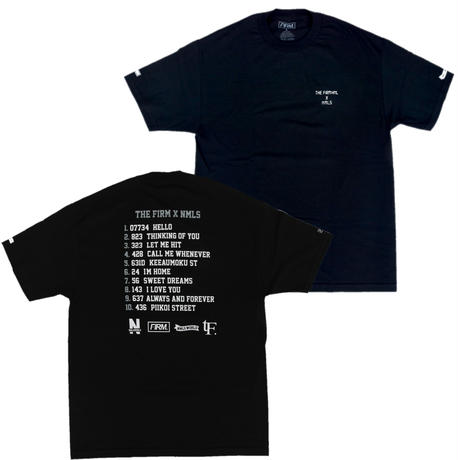 THE FIRM  ✖︎  NMLS  限定コラボ T-shirts