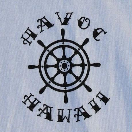 HAVOC HAWAII CLOTHINIG   アンカー Tshirts  White/Black