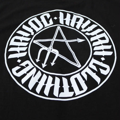 HAVOC HAWAII CLOTHING    スター Tshirts   Black/ White