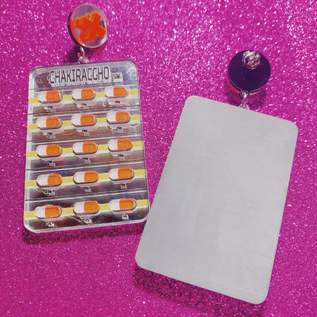 【片耳】Drugs Brooch/SingleEarrings