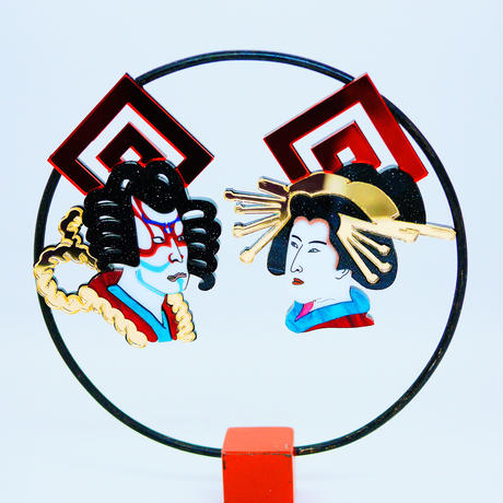 OIRAN Single Earring/Clip/Brooch 【片耳・ブローチ】