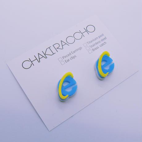 【両耳】Internet  Explorer    Earrings /Ear Clips