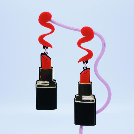 Lips Earrings/Ear clips