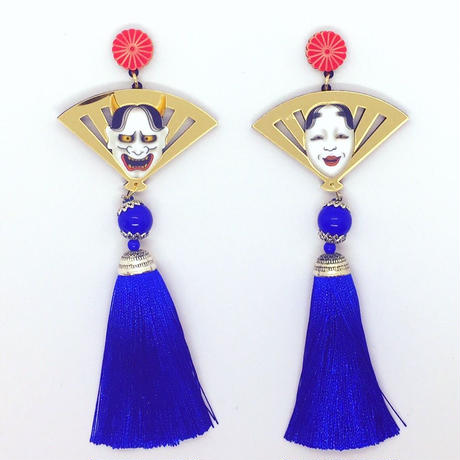 HANNYA&KOMOTE g×blue piercings/ear clips