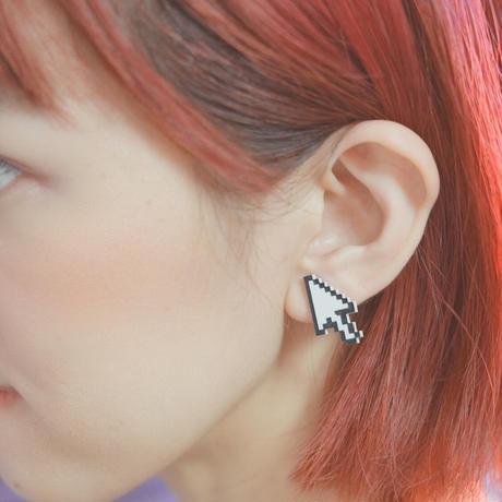 【両耳】カーソル Cursor Earrings /Ear Clips