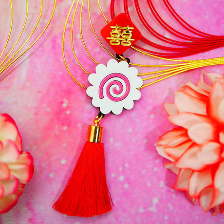 Red Naruto Single Earring/Ear clip