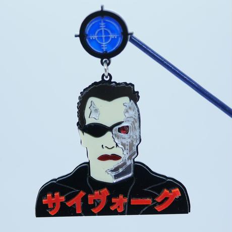 【片耳】Cyborg   Brooch/Single Earrings