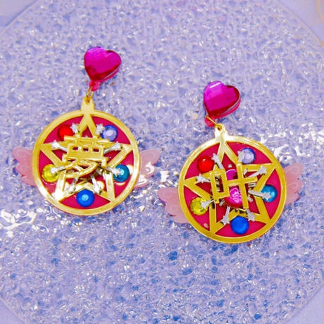 夢叶う DreamComeTrue Earrings/Ear clips