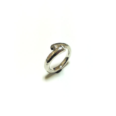 Twist Ring (Hammered)