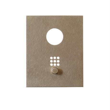 Doorphone Cover Brass