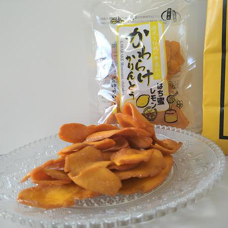 【期間限定】奥の平泉 かわらけかりんとう はち蜜レモン 5袋セット