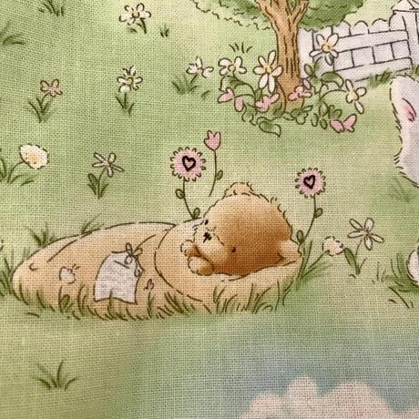 USコットン うさぎさん くまちゃんシリーズ その3 人気!