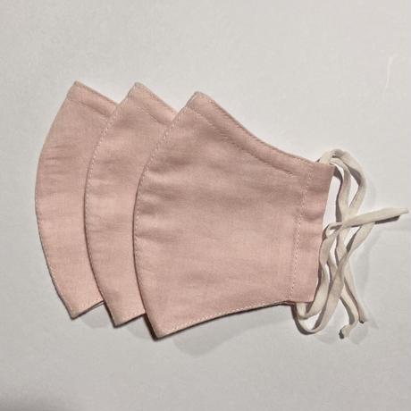 ノーズワイヤー&ポケット付き♡立体マスク baby pink