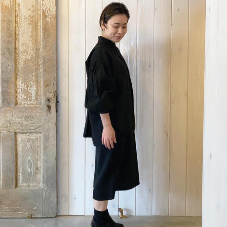 タイプライター AZUMADAKI ボリューム袖 ブラウス