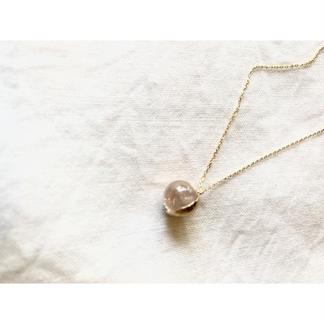K10 gold drops necklace