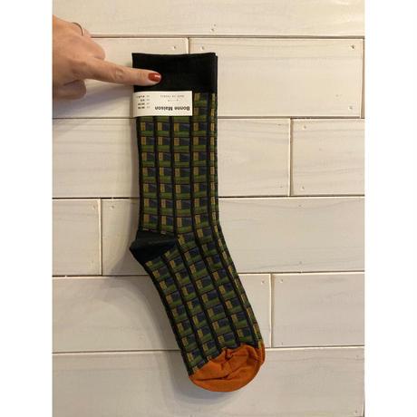 Bonne Maison    靴下 柄