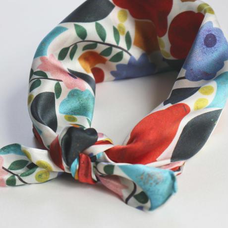 mini scarf < Flower hug >