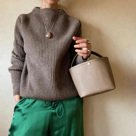 【Leather Basket】