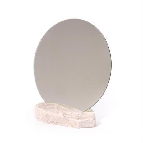 Circle mirror  /   Sandstone 5