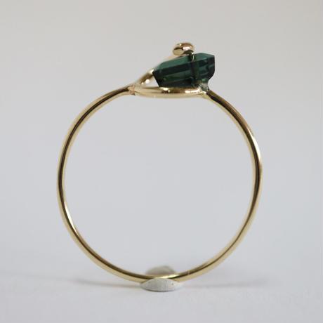 Circle ring / Tourmaline 2