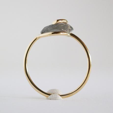 Circle ring / Labradorite