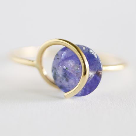 Circle ring / Tanzanite 4