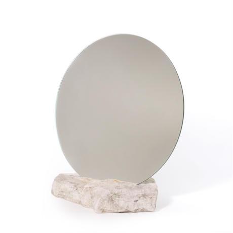 Circle mirror  /   Sandstone 3