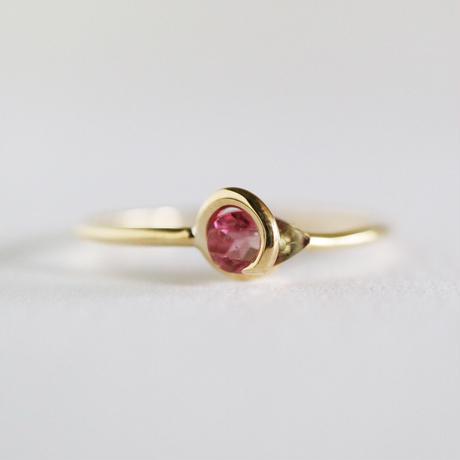 Circle ring / Tourmaline