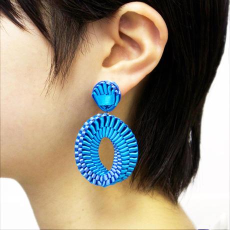 Mobius /  Pierced Earrings    Sky blue ピアス