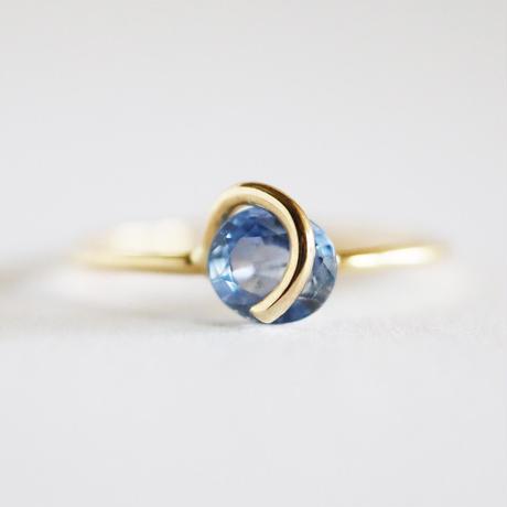 Circle ring /  Sapphire