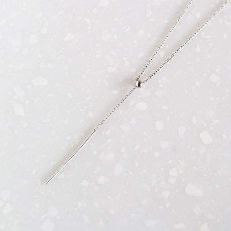Line / Silver Necklace