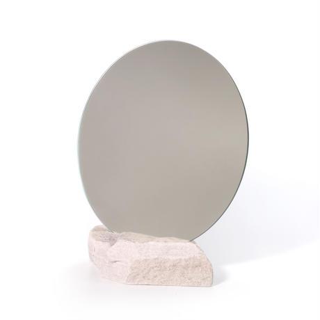 Circle mirror  /   Sandstone 4