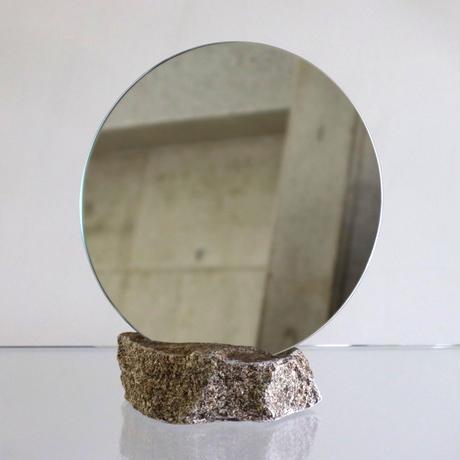 Circle mirror  /   Ajistone sabi 1
