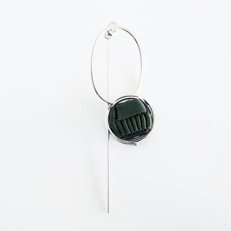 Ripple / Pierced Earring Khaki ピアス