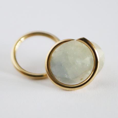 Circle / Pierced Earring Sapphire ピアス(single)