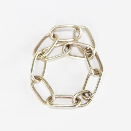 Chain / Silver  ring 1