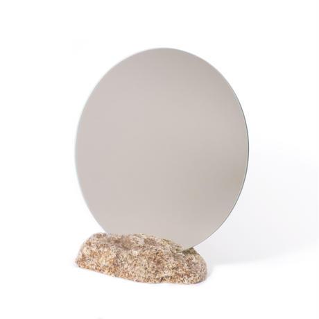 Circle mirror  /   Ajistone sabi 16