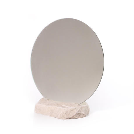 Circle mirror  /   Sandstone 6