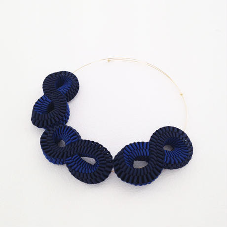 Mobius / Necklace Navy