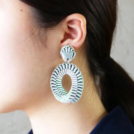 Mobius /  Clip on Earrings    Mint  イヤリング