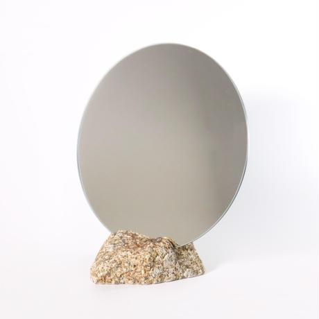 Circle mirror  /   Ajistone sabi 10