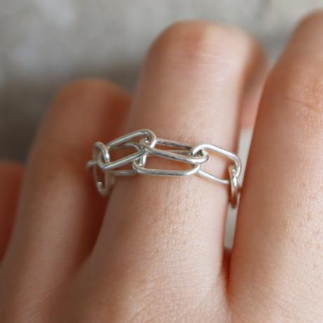Chain / Silver  ring 3
