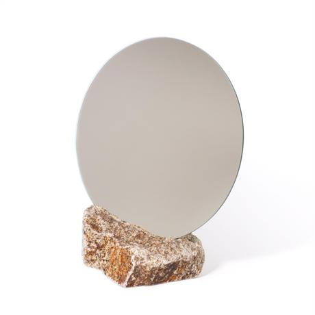 Circle mirror  /   Ajistone sabi 15