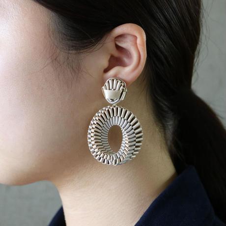 Mobius /  Clip on Earrings    Beige   イヤリング